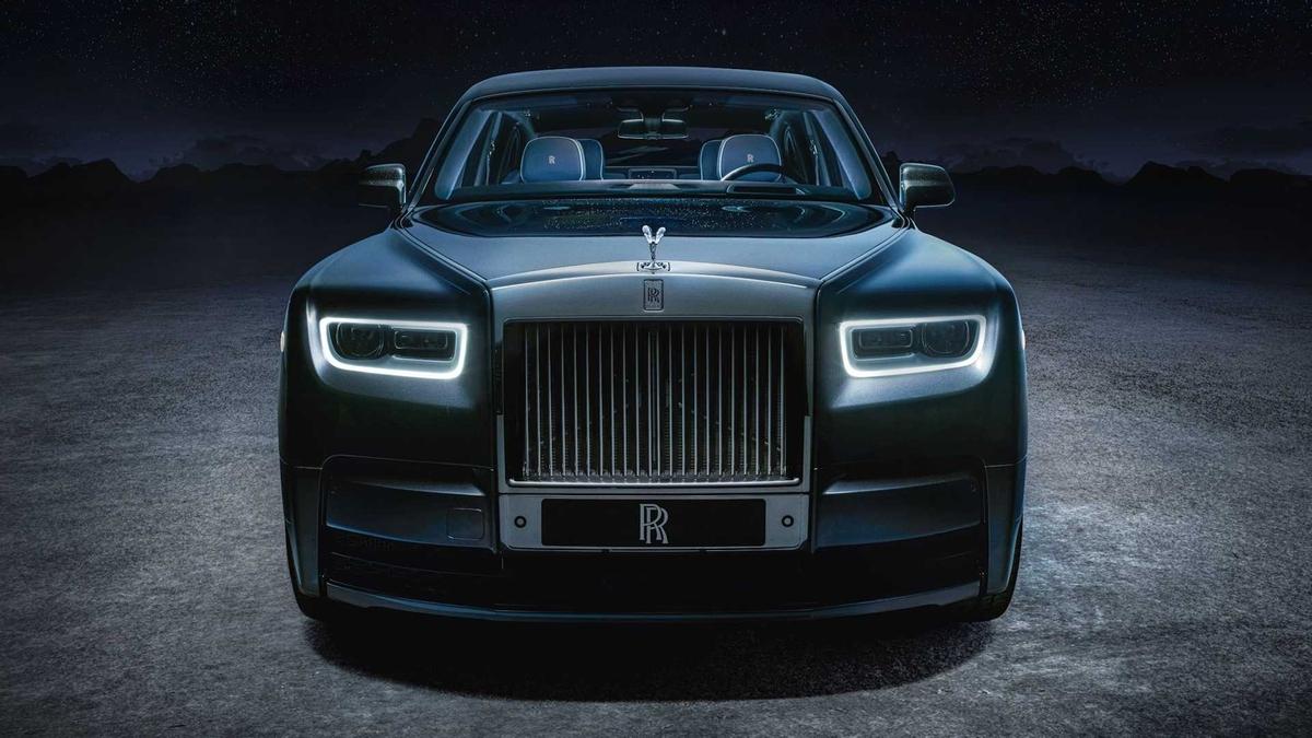 logo thương hiệu Rolls-Royce Phantom tempus