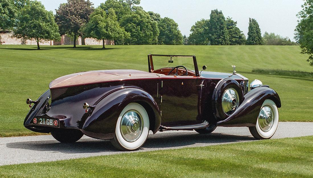 Rolls-Royce Phantom II Continental Dropdead Coupé (1934).