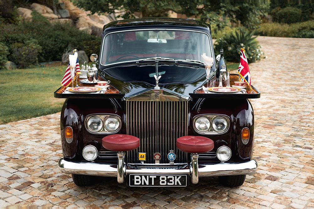 Rolls-Royce Phantom VI Limousine (1972).
