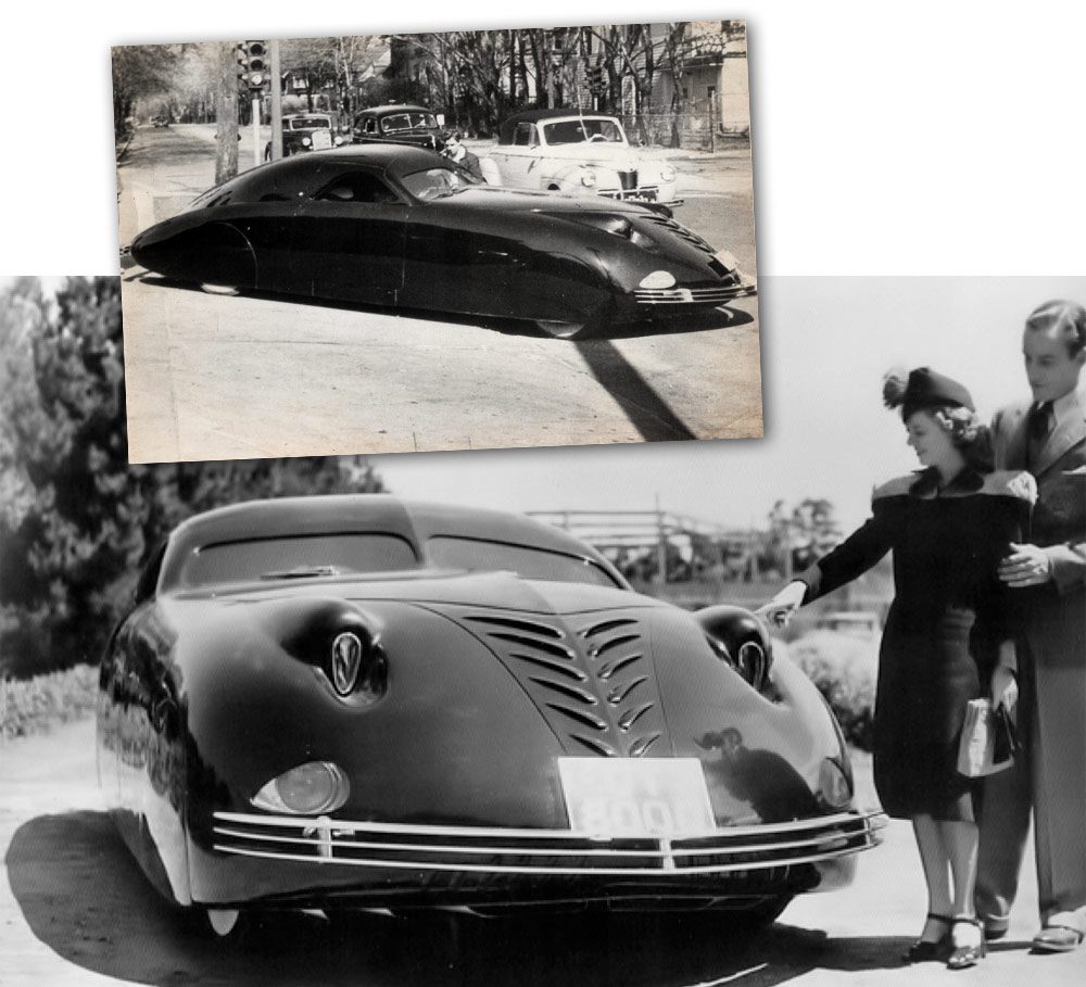 Rolls-Royce Phantom Corsair (1938).
