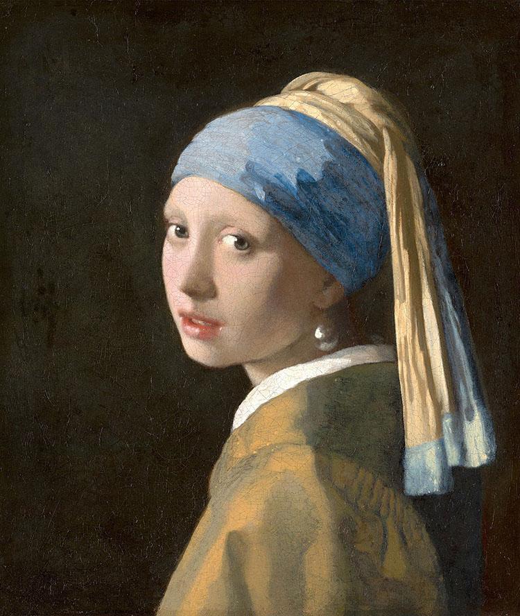 Girl With a Pearl Earring (Thiếu nữ đeo hoa tai ngọc trai).