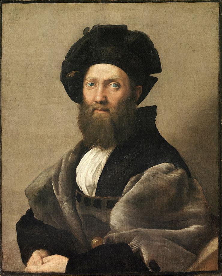 Portrait of Baldassare Castiglione (1515)
