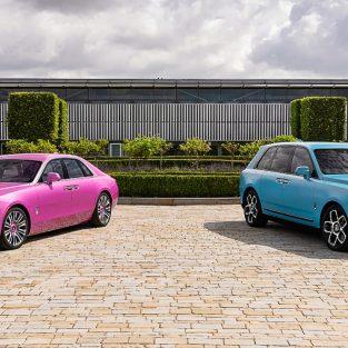 """Bộ đôi siêu phẩm """"bespoke"""" ấn tượng của Rolls-Royce tại Monterey Car Week 2021"""