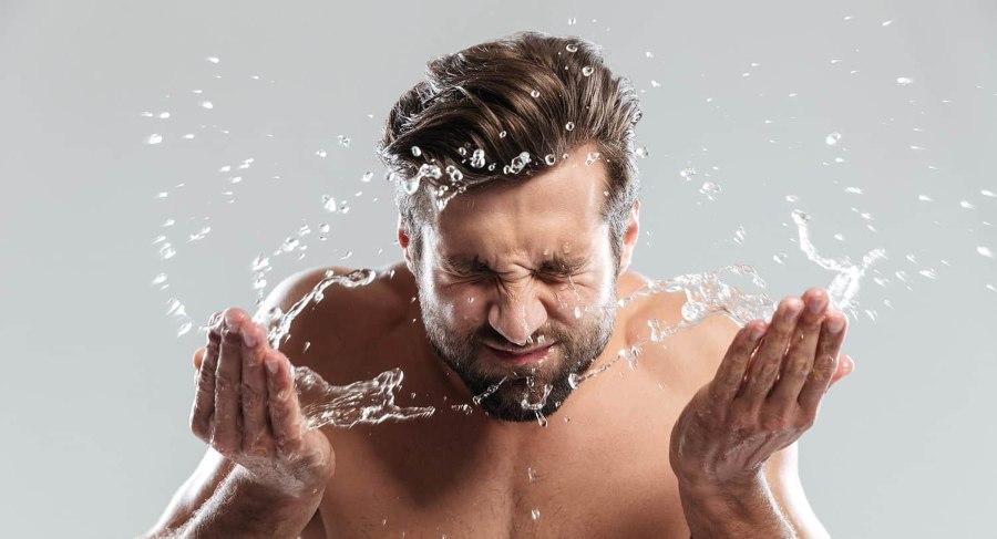 rửa mặt đúng cách chăm sóc da