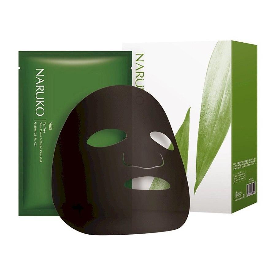 Naruko Tea Tree Shine Control And Blemish Clear Mask