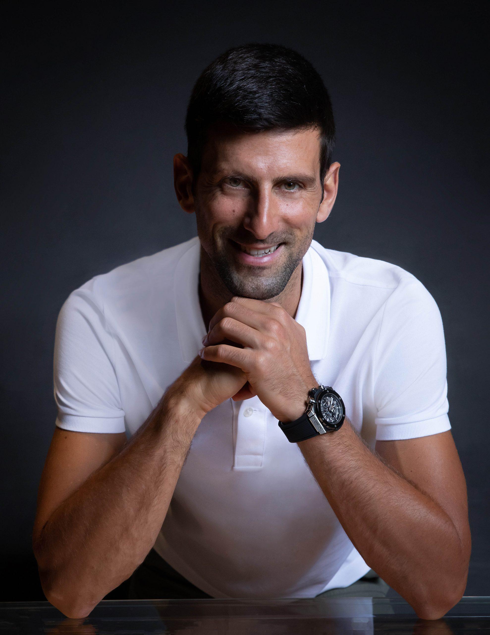 novak djokovic trở thành gương mặt đại diện của hublot