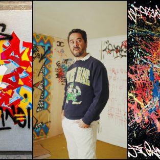 Cyril Kongo và sự giao thoa giữa Calligraphy và Graffiti