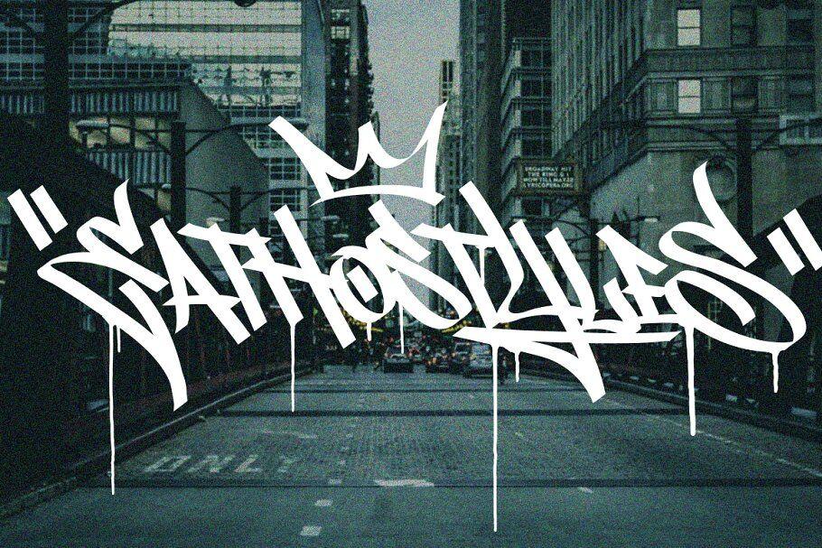 nghệ thuật graffiti