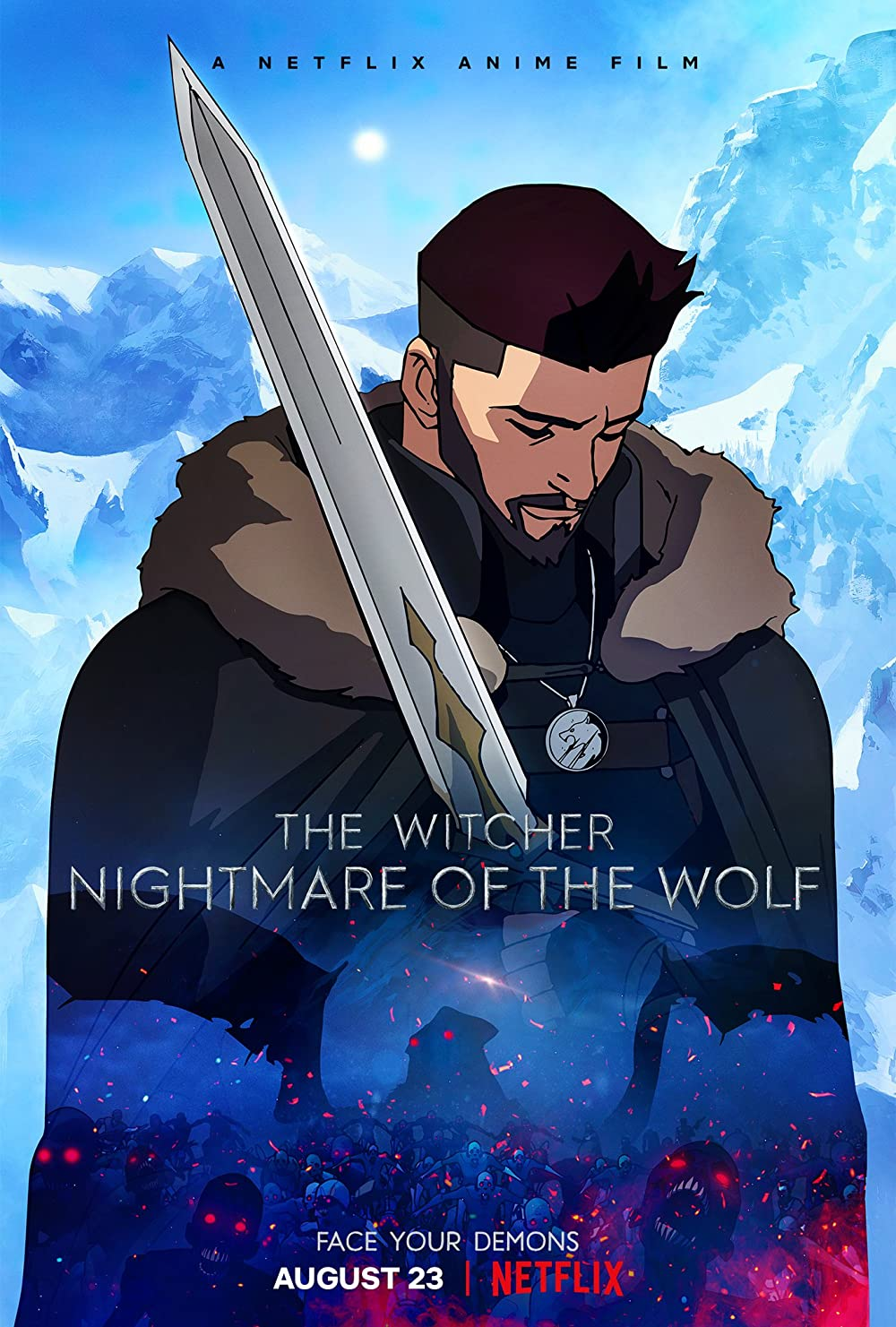 Poster phim The Witcher: Nightmare of the Wolf