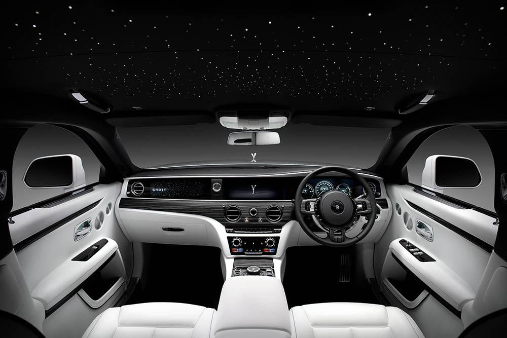 nội thất Rolls-Royce New Ghost.