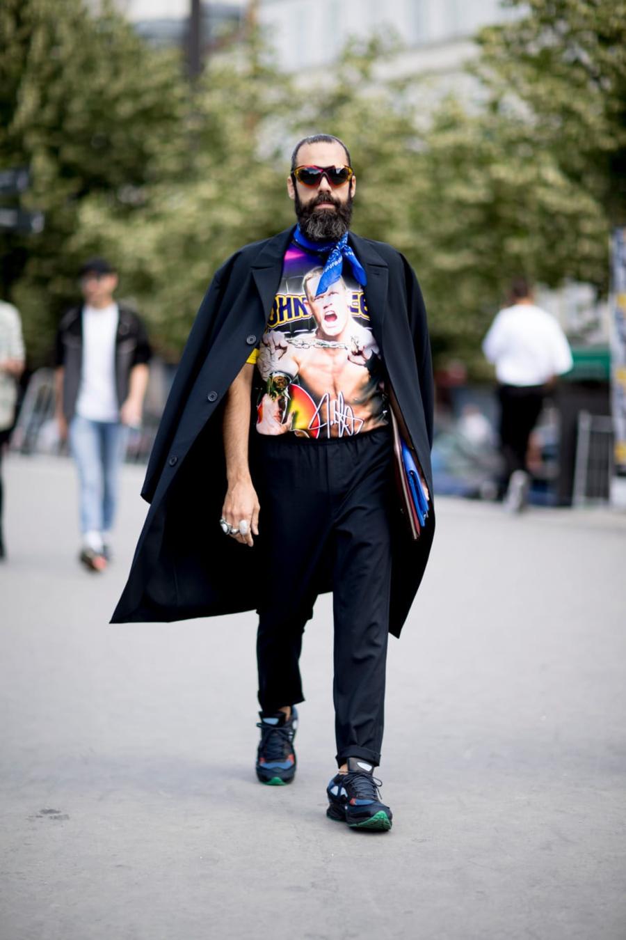 quần kaki màu đen