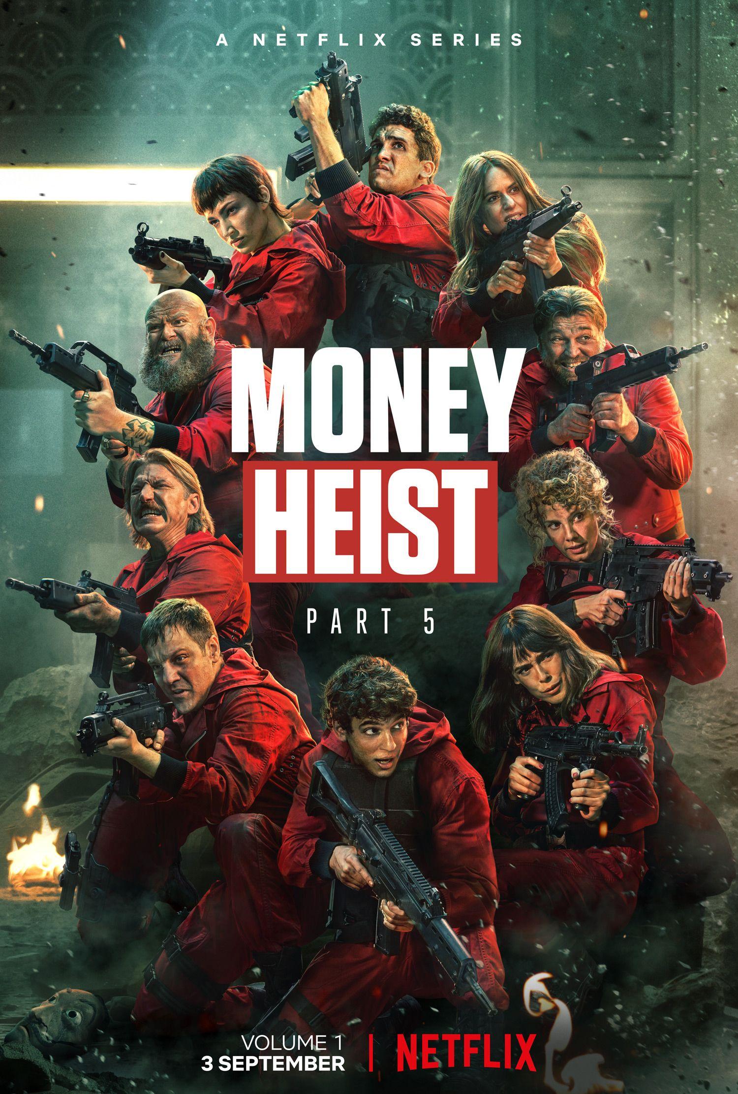money heist phần 5