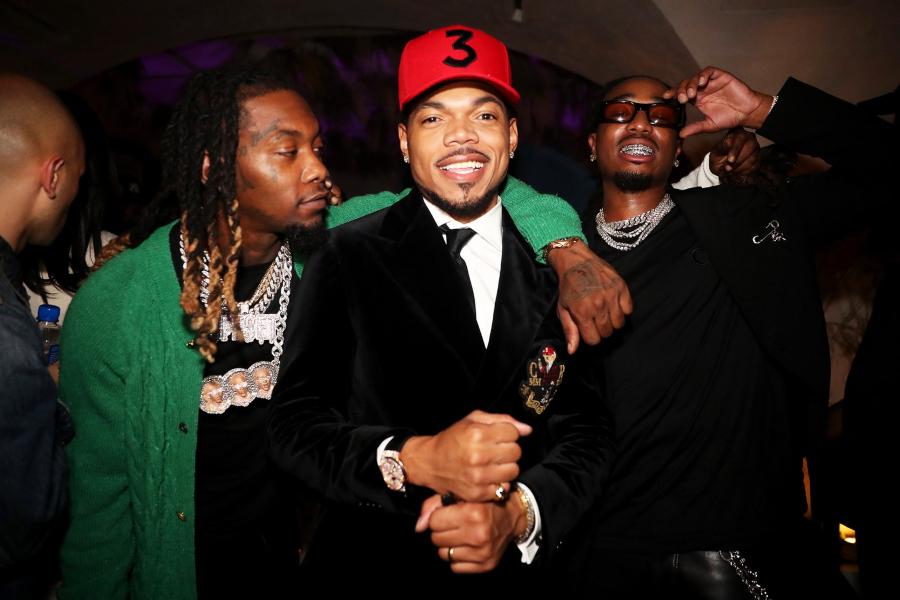 Offset, Chance The Rapper, Quavo Met gala 2021