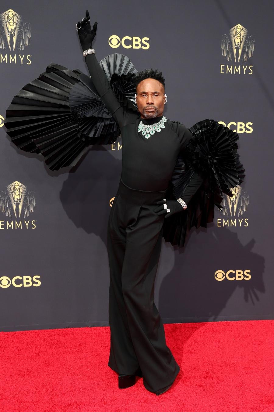 Billy Porter thảm đỏ Emmy Awards
