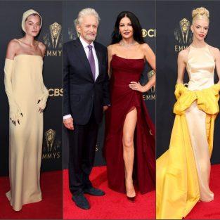 Dàn sao lịch lãm hội tụ tại thảm đỏ Emmy Awards 2021