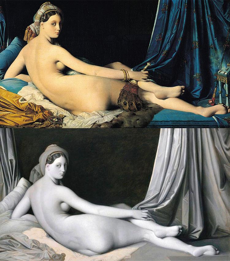 """Grande Odalisque"" (1814)"