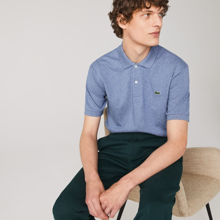 Marl Lacoste Classic Fit Polo Shirt
